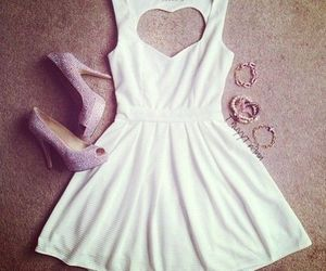 bracelet, white, and dress image
