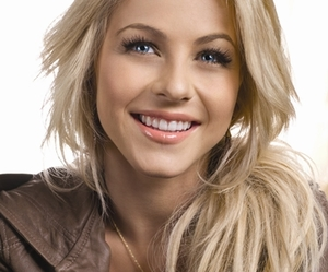 blonde, julianne hough, and smile image