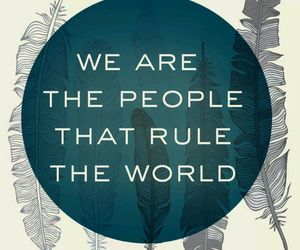 empire of the sun, we are the people, and quote image