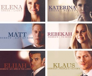 tvd, the vampire diaries, and klaus image