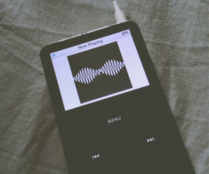 arctic monkeys, fade, and ipod image