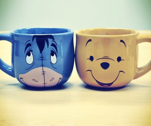cup, eeyore, and cute image