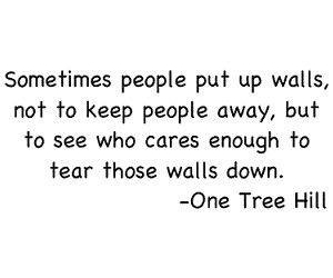 one tree hill and quote image