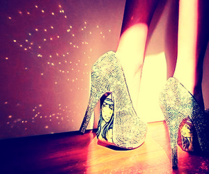 shoes, girl, and highheels image