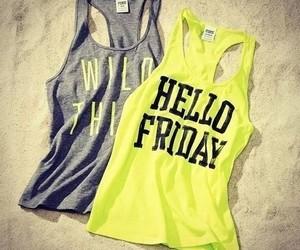 fashion, friday, and hello image