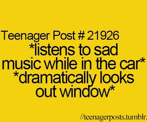 teenager post, music, and car image