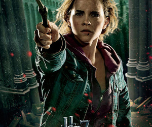 hermione, the deathly hallows, and deathly hallows image