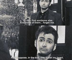 doctor who, david tennant, and sad image