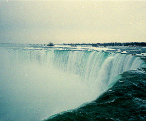 film and waterfall image