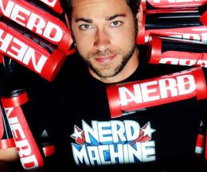 nerd, zachary levi, and zac levi image