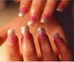 barbie, long nails, and nails image