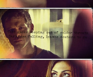 hayley, klaus, and tvd image