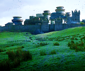 game of thrones and winterfell image