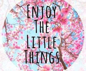 enjoy, quote, and little image