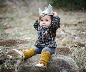 baby, style, and cute image