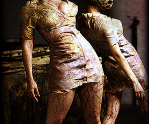 silent hill, nurse, and horror image