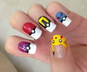 nails, pokemon, and pikachu image