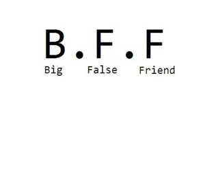 friends, bff, and false image
