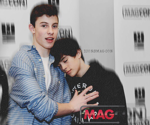 hayes grier, magcon, and shawn mendes image