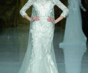 beautiful, Pronovias, and dress image