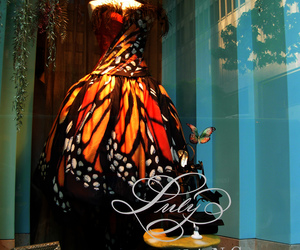 butterfly, dress, and luly yang image