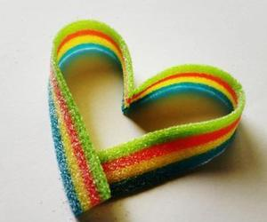 heart and candy image