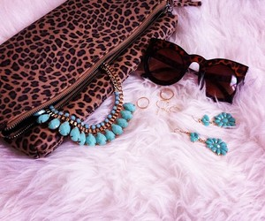 chanel, glasses, and jewelry image