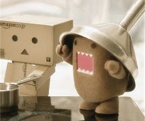 danbo, cute, and domo image