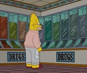 drugs, the simpsons, and simpsons image