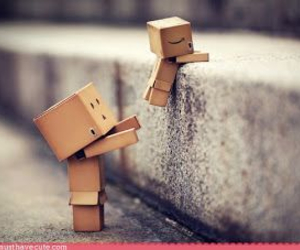 danbo and helping image