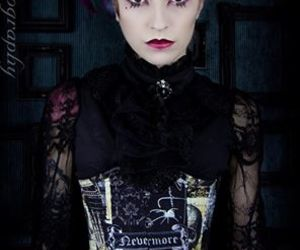 ladymoon designs and nevermore corset image