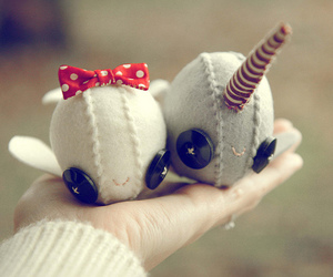 bow, buttons, and crafts image