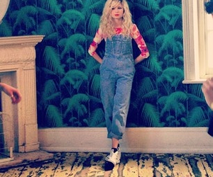 dungarees, fashion, and model image