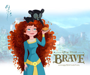 beautiful, movie, and brave image