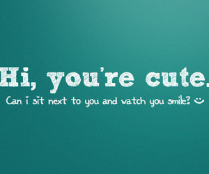 cute, smile, and quote image