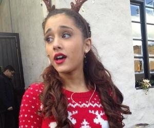 ariana grande and christmas image