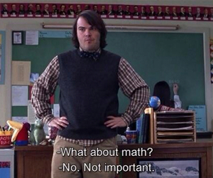 math, school of rock, and school image