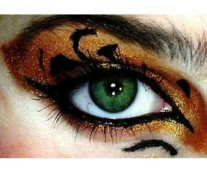 brave, eye, and tigers image