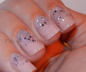 glitters, nail art, and nail polish image