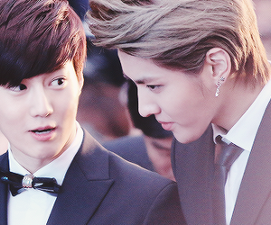 kris, exo, and suho image