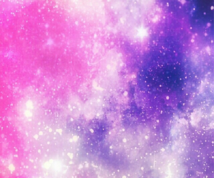 galaxy, pink, and wallpaper image