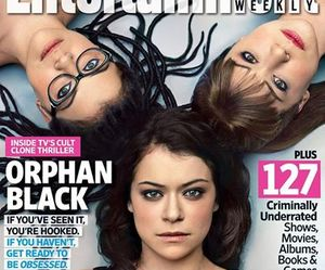 entertainment weekly and tatiana maslany image