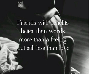 feeling, just friends, and quotes image