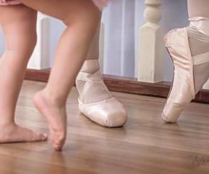 baby, ballerina, and dreams image