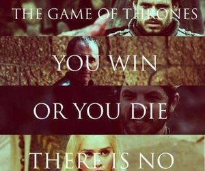 king, stark, and game of thrones image
