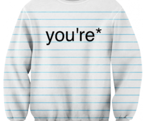 you're and grammar image