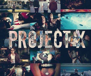 project x, party, and movie image