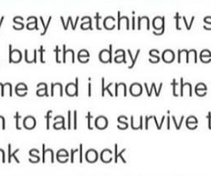 fandom, sherlock, and shot image