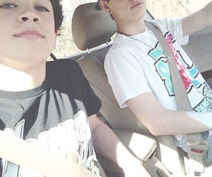 hayes grier, magcon, and carter reynolds image