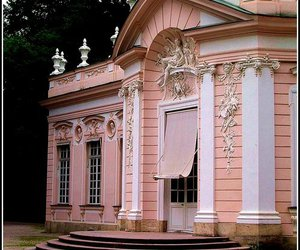 pink, building, and architecture image